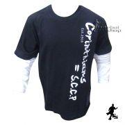 Camisa do Corinthians Infantil  Manga Longa - BW182