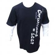 Camisa Infantil do Corinthians Manga Longa - BW182