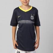 Camisa Infantil do Santos III 13/14 Azul S/n - 580637