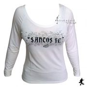 Camisa Manga Longa do Santos Feminina - Veet