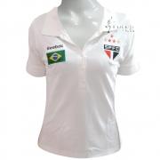 Camisa Polo Brasil São Paulo F.C - Feminina - SP09061V