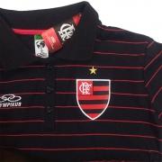 Camisa Polo Feminina do Flamengo Olympikus - FL09007V