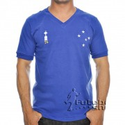 Camisa Retro do Cruzeiro Alviceleste 1976 - RM17