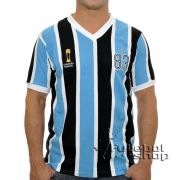 Camisa Retro do Grêmio Tricolor RS 1983 - RM16