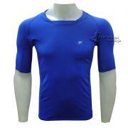Camisa Térmica Poker Skin Atleta Manga Curta - 4316 - Azul