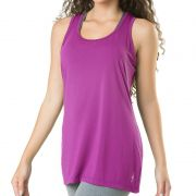Camiseta Feminina Regata Fitness Roxa Elite - 119602