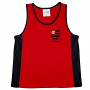 Camiseta Regata Infantil de Malha do Flamengo - 210