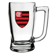 Caneca de Vidro do Flamengo 340 ml