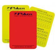Cartão Poker Oficial para Arbitro Campo - 08057