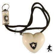 Chaveiro de Coração do Botafogo