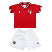 Conjunto Uniforme Toddler do  São Paulo (até 2 anos) - 031ll2
