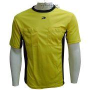 Camisa de Arbitro Placar Amazonas Amarela - CP6422