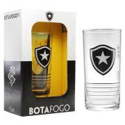 Copo Long Drink do Botafogo 300 ml em Caixa Personalizada