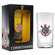 Copo Long Drink do Corinthians 300 ml em Caixa Personalizada