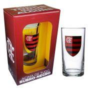 Copo Long Drink do Flamengo 300 ml em Caixa Personalizada