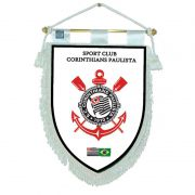 Flamula Oficial do Corinthians Branca