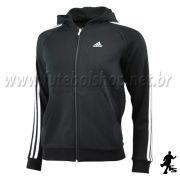 Jaqueta Adidas Capuz 3S ESS Kids Moletom - E15299