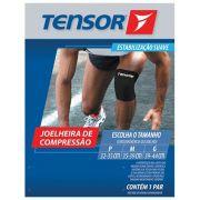 Joelheira de Compressão Tensor Preta - 6001