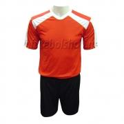 Jogo de Camisa Kanxa Infantil -  Vermelho - 15 Conjuntos + 2 Goleiros