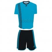 Jogo de Camisa Uniforme Placar -  Preto e Azul - 5 Conjuntos