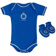 Kit Body + Pantufa para Bebê do Cruzeiro 033a