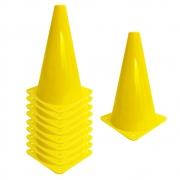 Kit c/ 10 Cones de Treinamento 23 Cm