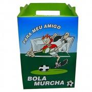 Kit c/50 Caixas de Presente Meu Amigo Bola Murcha