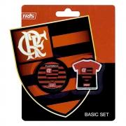 Kit Escolar do Flamengo (apontador + borracha)
