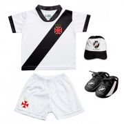Kit Uniforme Bebê do Vasco da Gama Torcida Baby - 015S
