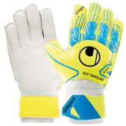 Luva Uhlsport Soft Advanced Amarela e Azul