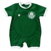 Macacão Curto Bebê Torcida Baby Palmeiras Estilo I - 005S