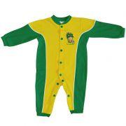 Macacão Longo para Bebê do Brasil Torcida Baby - 006A