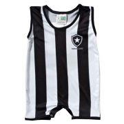 Macacão Regata Bebê do Botafogo Sublimado - Torcida Baby  026S
