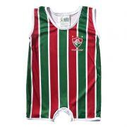 Macacão Regata Bebê do Fluminense Sublimado - Torcida Baby 026S