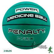 Medicine Ball de Borracha Penalty 2 Kg - 530093