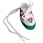 Mini Tênis do Fluminense (chaveiro / porta maternidade) - Torcida Baby 225