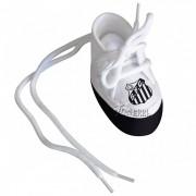 Mini Tênis do Santos (chaveiro / porta maternidade) - Torcida Baby 225