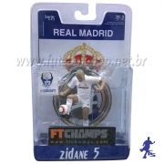 Minicraque Caricatura do Zidane 5 Real Madrid - FTChamps