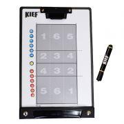 Prancheta Tática Magnética para Voleibol com Caneta Kief