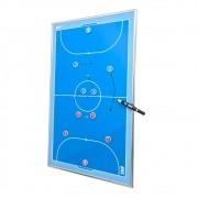 Quadro Tático Magnético de Futsal para Parede Kief