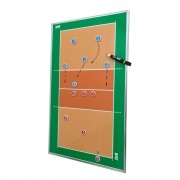 Quadro Tático Magnético de Voleibol para Parede Kief