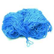 Rede de Futebol Society 6,20 x 2,30 Fio Nylon 4 mm Azul Matrix