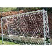 Rede de Futebol Suiço 5 metros Fio 2 mm Seda - Colméia 3b70392606796