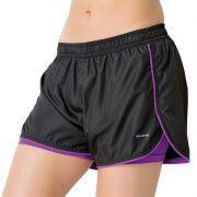 Short de Corrida Feminino Elite Running Preto  - 033658