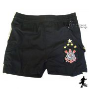 Shorts Rib Stop do Corinthians - Infantil / Kids - 77738