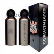 Squeeze do Corinthians 500ml - Inox Prata