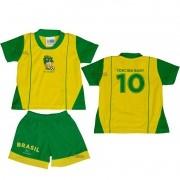 Uniforme de Bebê do Brasil - Torcida Baby 031H
