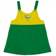 Vestido  Infantil do Brasil Torcida Baby - 203A