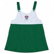 Vestido Torcida Baby Infantil com Alça do Fluminense - 203A
