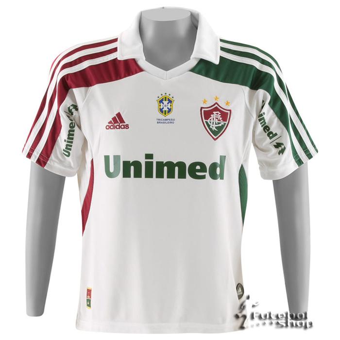 e160592c88 Camisa Adidas Fluminense II 2011 Infantil - V89042